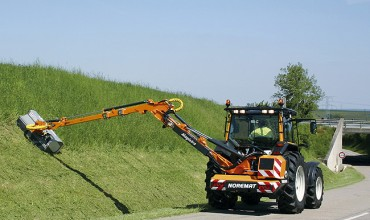 Noremat Professional Reach (Boom) Mowers